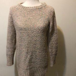 Anthropology Brand Ruby Moon Tweed Sweater
